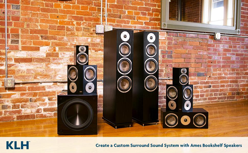klh audio speaker systems