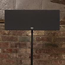 KLH Audio Story Center Channel Home Speaker with Stand