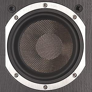 KLH Audio Beacon Surround Sound Speaker Close Up of Woofer