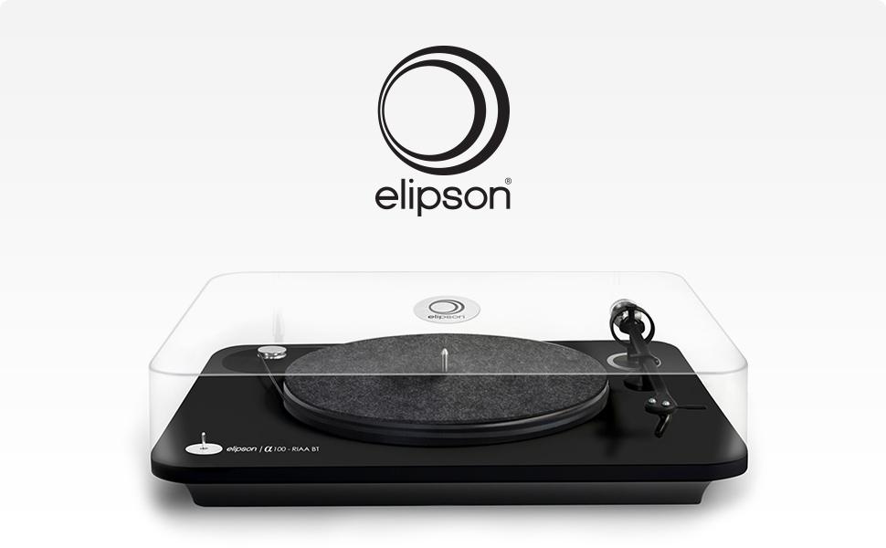Amazon.com: Elipson Alpha 100 Tocadiscos con Ortofon OM10 ...