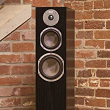 KLH Quincy Floor Speaker with Grill Off
