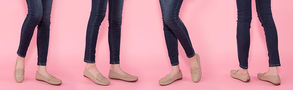 JENN ARDOR women penny loafers