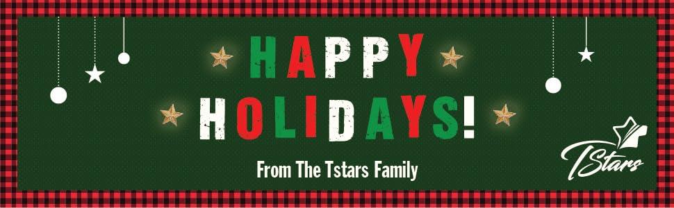 Happy holidays from the Tstars family