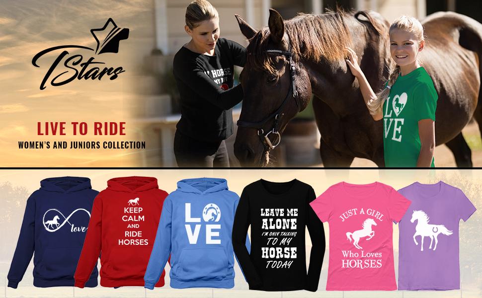 Tstars love horse