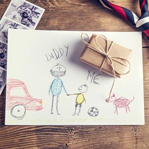 Children's art for daddy