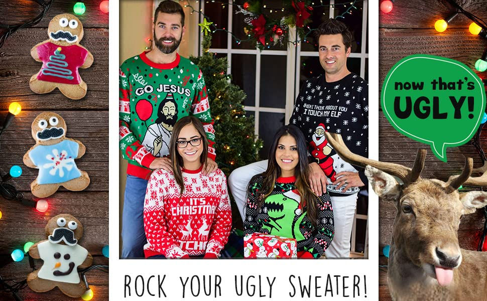 Ugly christmas sweater collection