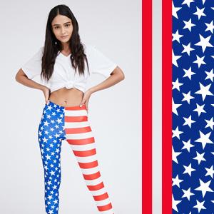 4th of july leggings