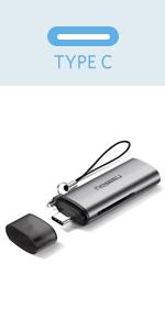 usb c card reader adapter