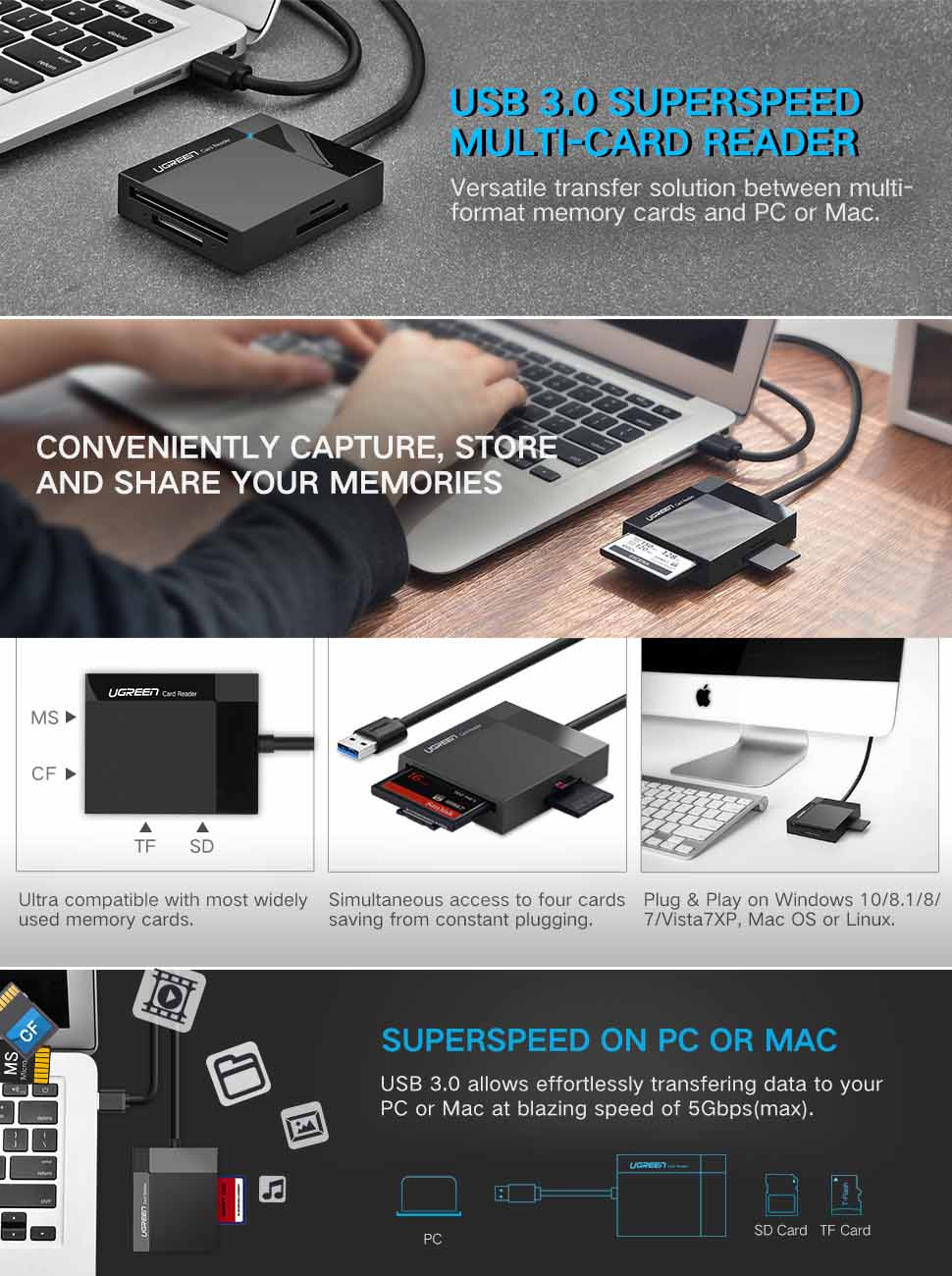 how to get a sd card to read on mac