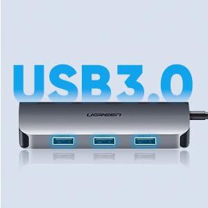usb c hub usb 3.0