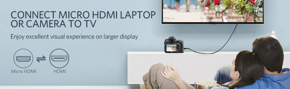Cable micro HDMI a HDMI