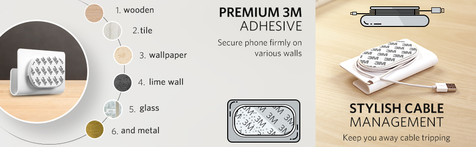 wall phone holder