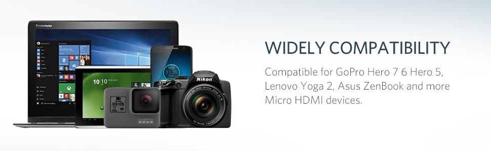 Adaptador micro HDMI