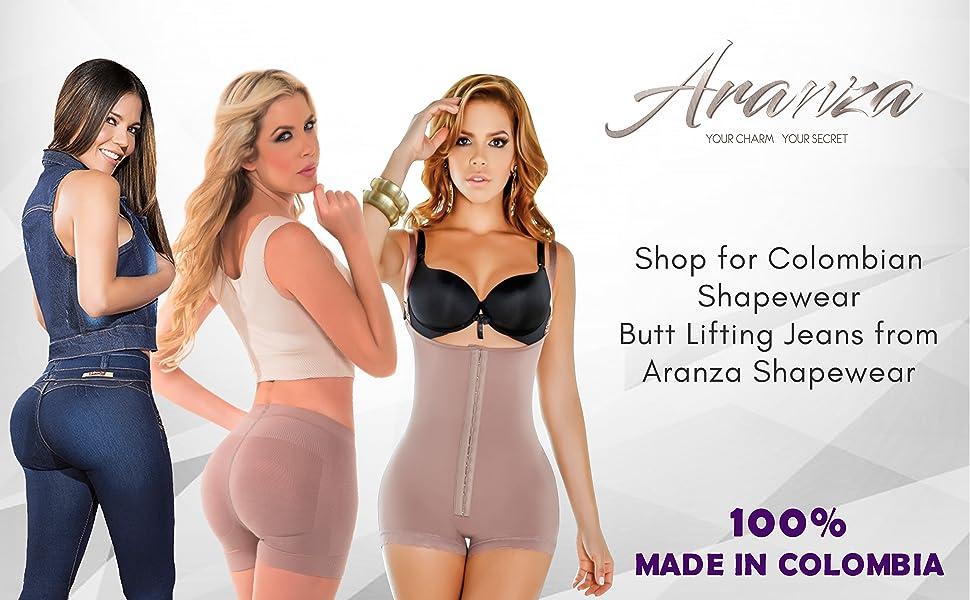 Blusa Faja Colombiana de Mujer Bodysuit Body Shaper Blouse Womens Body Suit High Compression