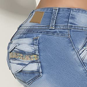 Pantalones colombianos levanta cola butt lifting jeans butt lifter jean heart shape