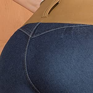 ARANZA Pantalones Colombianos Levanta Cola Butt Lifting Colombian Jeans Boot Cut