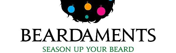 Beardaments Beard Ornaments Logo