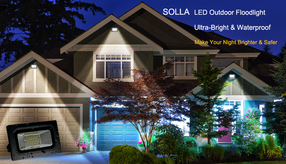 superb exterior house lights 4. Provide Super Bright, Shadow-free And Wide Beam Distribution Light For General Purpose Flood Lighting. IP65 Waterproof Outdoor Indoor. Superb Exterior House Lights 4 K