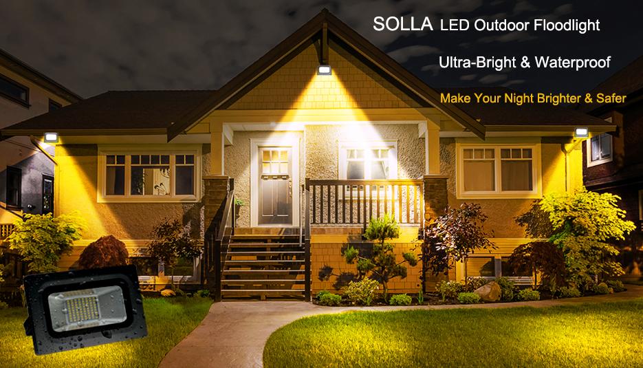 bright outdoor lighting. provide super bright shadowfree and wide beam distribution light for general purpose flood lighting ip65 waterproof outdoor indoor