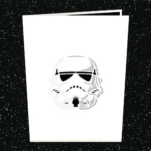 Tarjeta en 3D Star Wars Imperial Stormtrooper