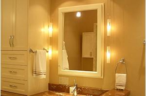 Indoor Lighting Great for Bedroom, Bathroom, Living room, as a makeup light, vanity lights, night light, desk light, mirror front light.