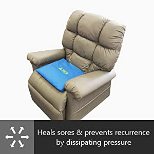 PURAP cushion heals bedsores