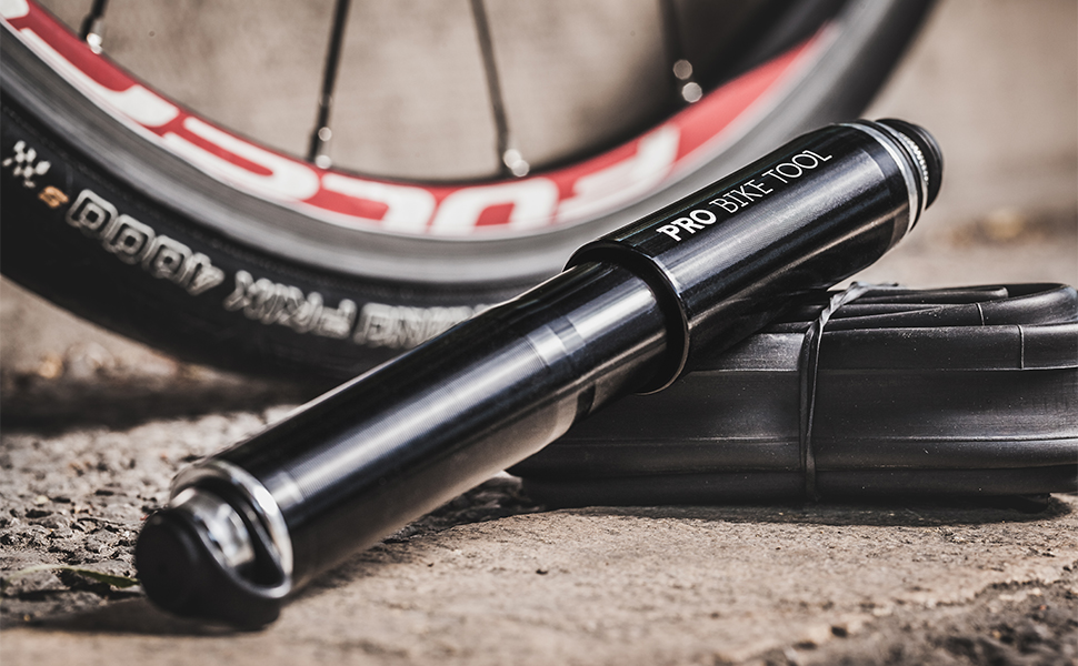 Compact and Convenient Bike Tyre Pump lezyne pressure drive pump