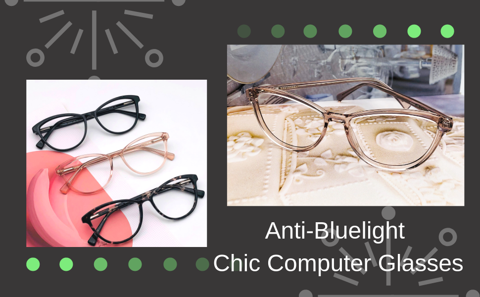 e428a991e20 cat eye glasses retro vintage computer adorable blue light blocker glasses