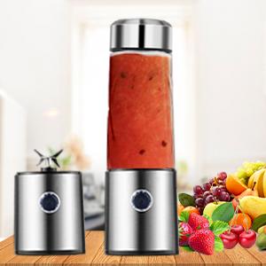 Portable Blenders, Carry Blenders Smoothie Mixers Smoothie Blenders Fruit  Blenders Rechargeable Cordless Speedy for Travel, Home, Gym and Office BPA