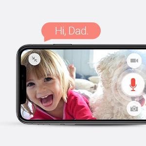 two way audio,baby monitoring,pet camera,wireless security camera,home camera