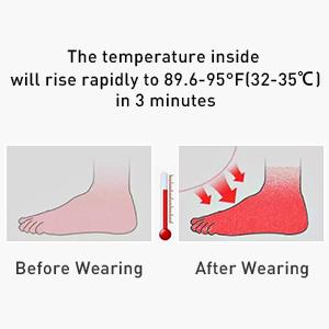 high collar design keep feet and ankle warm