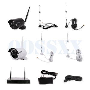 OOSSXX 8CH 1080P HD Wireless Video Security Camera System