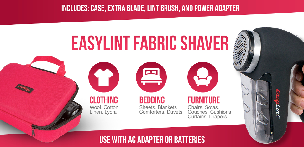 Captivating The Best, Most Effective Sweater Shaver For Clothing, Bedding U0026 Furniture!