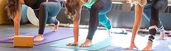 Jade Yoga Cork Block