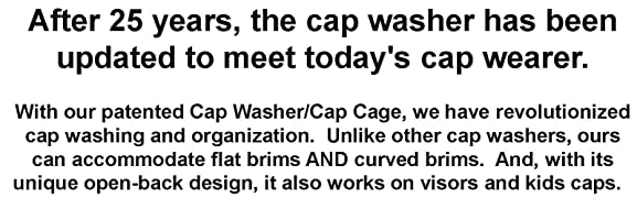 Amazon.com  Perfect Curve Cap Washer (White) - hat Washer - Baseball ... 311cbac0669d