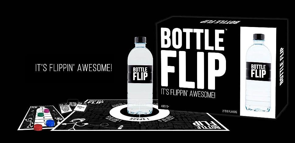 Amazon Com Bottle Flip Board Game Toys Games