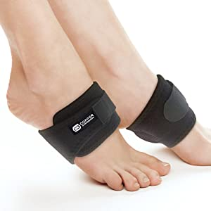 adjustable arch supports with pad