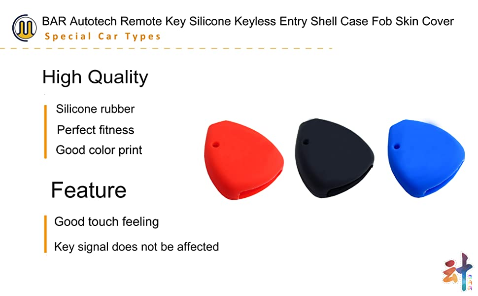 Silicone Keyless Shell Case Fob Key Skin Cover fit Honda Civic Accord CR-V Pilot 2015 2016 2017