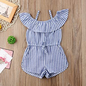 toddler,girl,one,piece,romper,2t,3t,4t,5t,6t,summer,outfits,striped,clothes,sets,cute,2019,kids