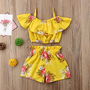 toddler,girl,one,piece,romper,2t,3t,4t,5t,6t,summer,outfits,flower,clothes,sets,cute,2019,kids