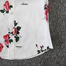 fashion high-low brim, button front