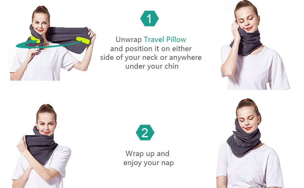 Soft Comfortable Travel Neck Pillow