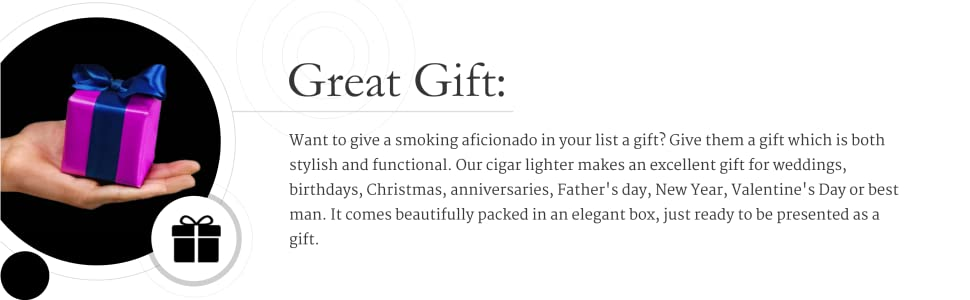 Pipe smoking lighter is the perfect gift for every smoking enthusiast in your list