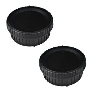 2pack rear lens cap body cap