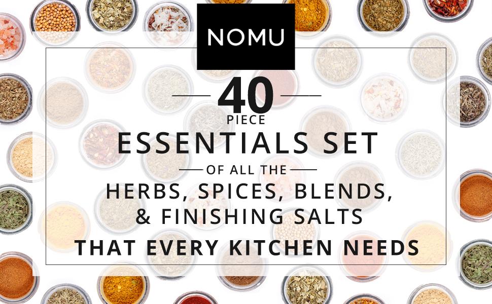 essentials complete spice set
