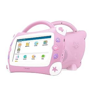 iview, 711tpc, almohadilla para cantar niños, tableta Android, rosa