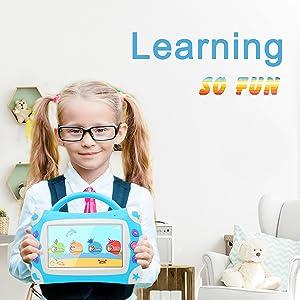 iview, 711tpc, cojín de cantos para niños, tableta Android