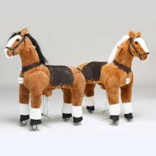 Amazon.com: UFREE Horse Action Pony, Ride on Toy ...