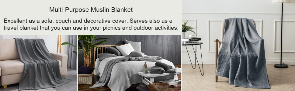 multi use muslin blanket