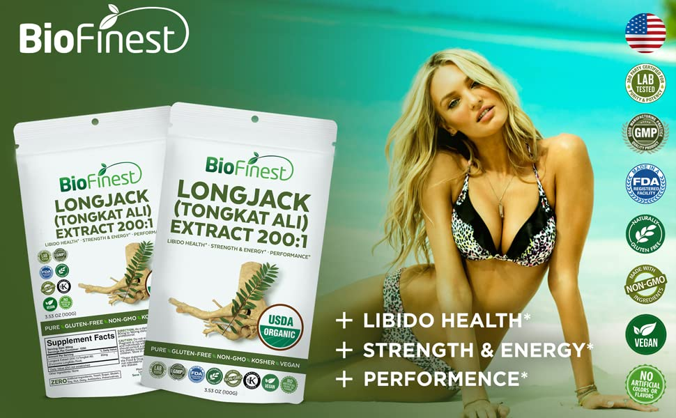 811dae7a81 BioFinest Longjack Extract Powder - Healthy Supplement For Better Living